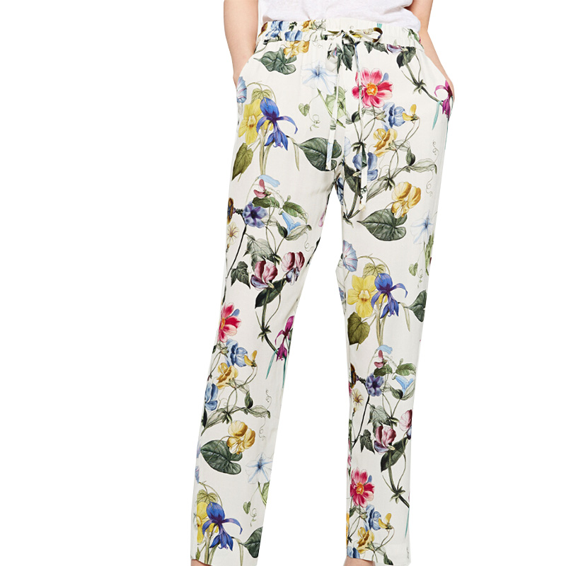 Floral pants are in, in a big way this season. That's why we have stocked a huge selection of floral pants that suit virtually any occasion. We have cropped floral pants, palazzo style, straight legged floral pants,