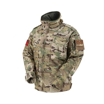 KMS Hot Sale Multicolor Outdoor Army Military Hunting Tactical Field Jacket