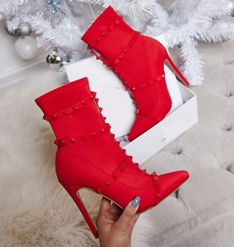 Модные высококачественные рыцарские ботильоны PDEP с острым носком на шпильке 11 см на очень высоком каблуке, женские ботинки, женская обувь