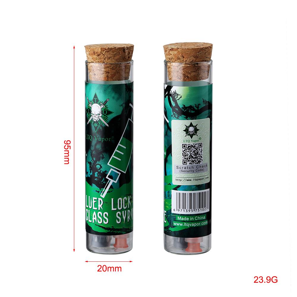 Многоразовый стеклянный шприц luer lock 1 мл (Шэньчжэнь, Китай)