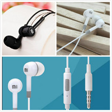 Hot Sale  XIAOMI Earphone Headphone Headset For XiaoMI M2 M1 1S Samsung iPhone mp3 player With with Remote And MIC