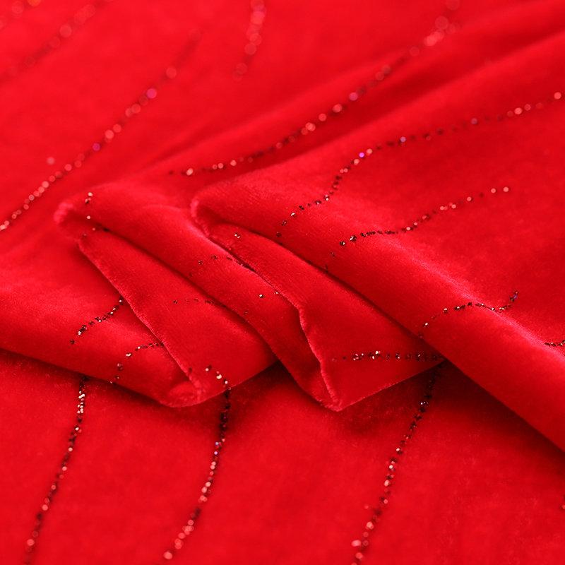 Модная ткань для платьев с принтом, шелковая вискозная бархатная ткань для выгорания