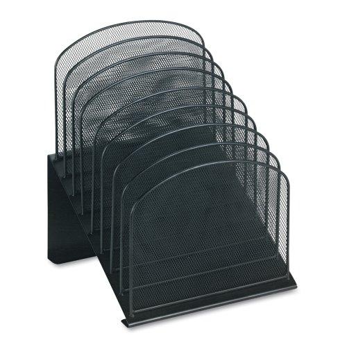 Прочная стальная конструкция, проволочная сетка, настольный органайзер, держатель для журналов, вертикальная секция, наклон, письмо, почта, сортировщик файлов