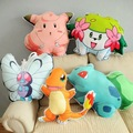 Pokemon GO Pokemon cartoon series charmander Bulbasaur Clefairy Buttrtfree Shaymin pillow cushions pokemon plush toys