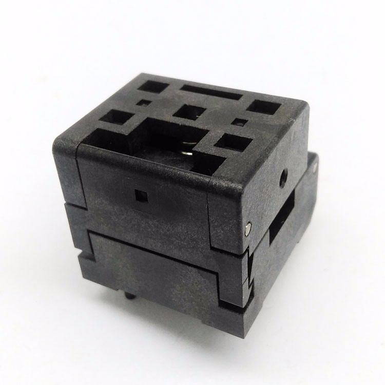 QFN36 MLF36 WLCSP36 burn-in Socket Adapter Pin Pitch 0.4mm IC Body Size 5*5mm Test Socket QFN36(5x5)-0.4 programming socket