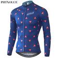 Phtxolue Cycling Jersey Winter Thermal Fleece Warm 2016 Pro Mtb Long Sleeve Men Bike Wear Clothing