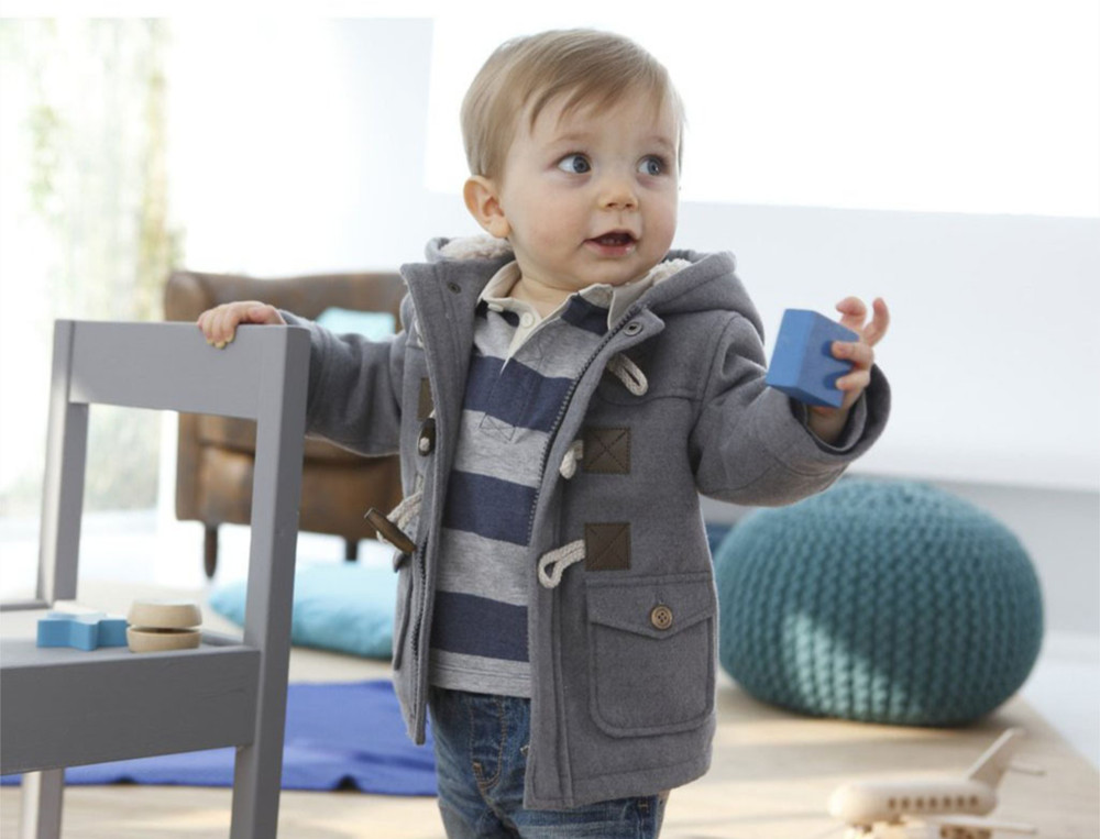 Insulate babies and toddlers from the cold in adorable baby outerwear. When the temperature drops, shelter your children from the cold air, rain and snow in baby outerwear and toddler winter coats. Choose from a wide variety of designs in colors and prints your kids are sure to love.