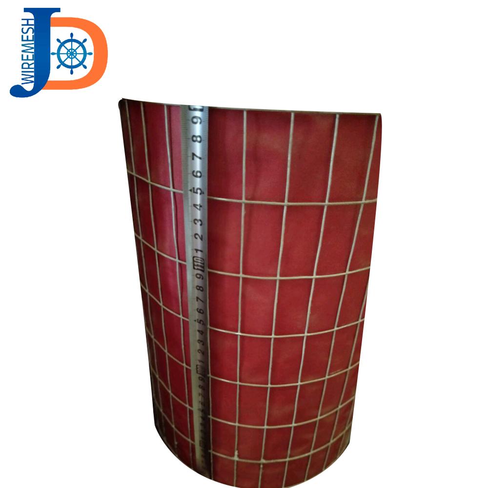 1 дюйм x 1 дюйм, сварная проволочная сетка с горячим цинкованием для птичьей клетки, 14 Калибр