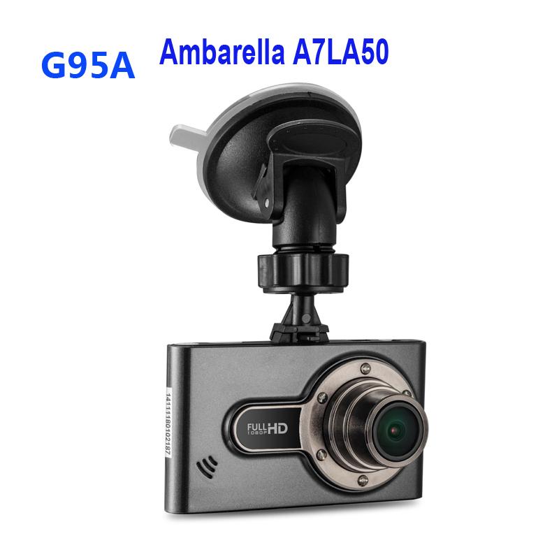 Бесплатная Доставка!! G95A Ambarella A7LA50 Автомобильный Видеорегистратор Видеорегистратор Full HD 2304*1296 30fps 2.7