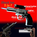 Fashion 3 in 1 Electric Shock Toys Lighter Novelty Electric Prank Toy Funny Gifts Joke Goods