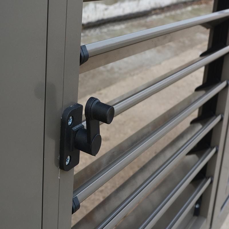 Внешние алюминиевые жалюзи дизайн «летучая мышь» с алюминиевыми жалюзями