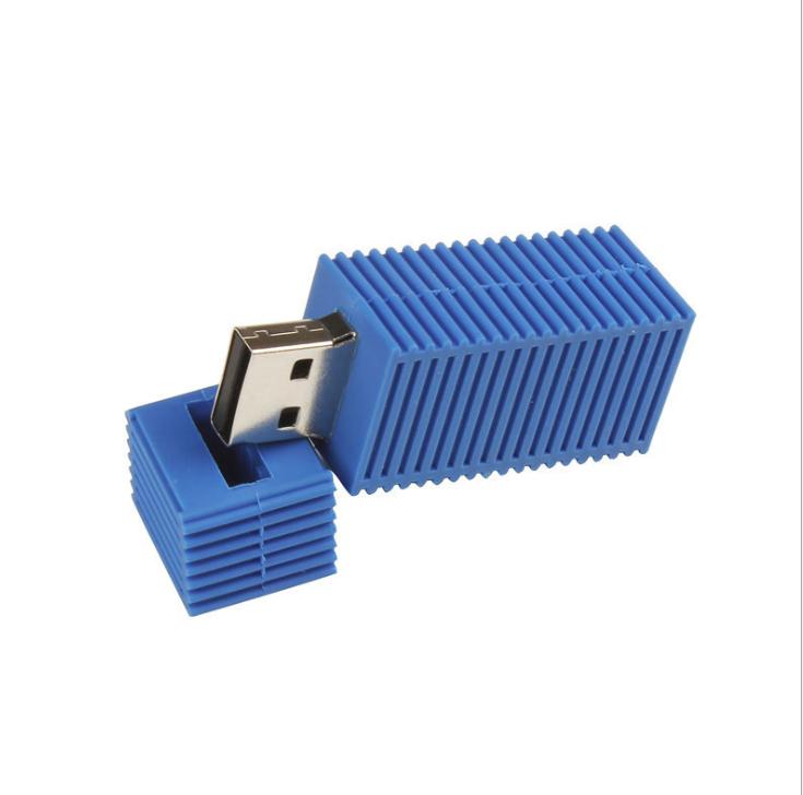 Container shape customized usb flash drive 8gb/16gb/32gb - USBSKY   USBSKY.NET