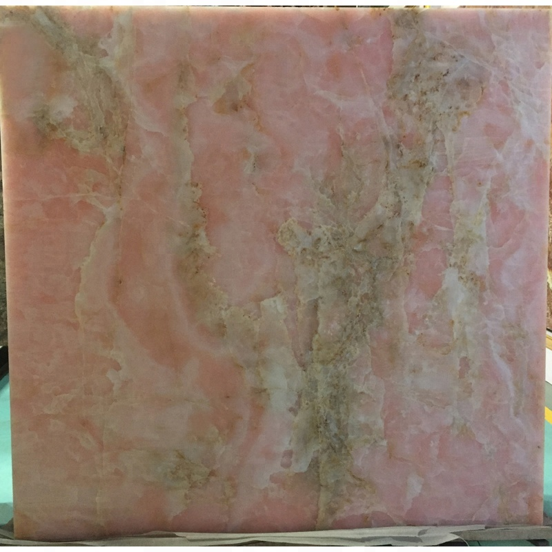 Onice tile price wall decoration marble pink onyx slab