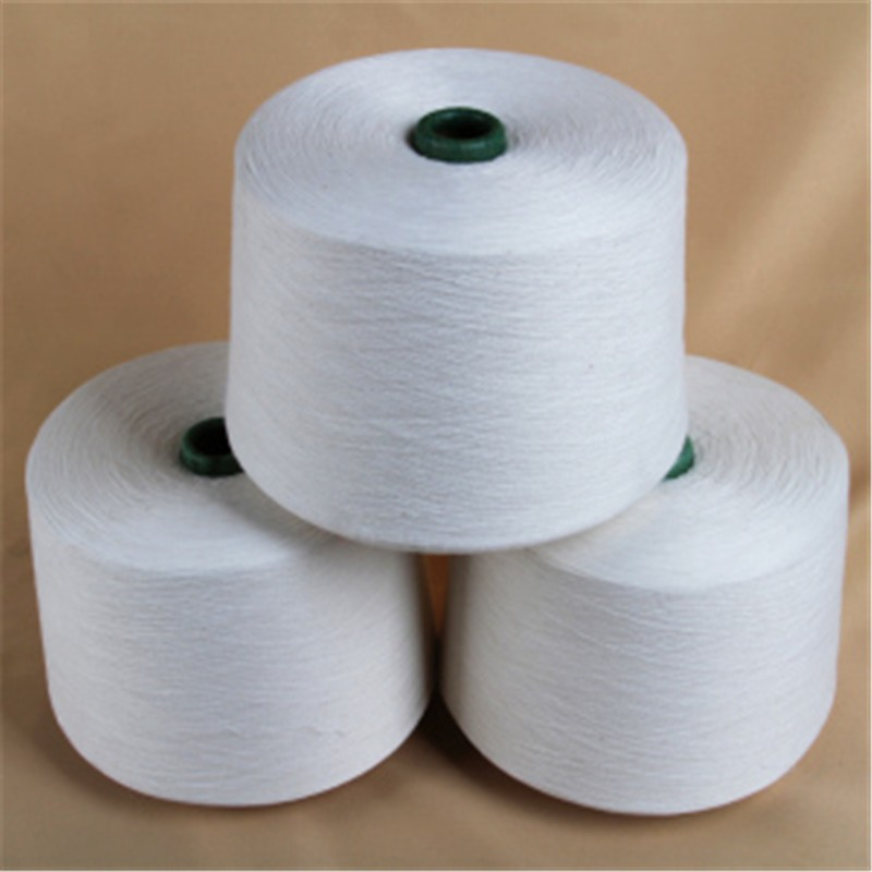 2018 FSC Certificate 32/1 34/1 40/1 50% BCI bamboo 50% cotton yarn with good price for circular knitting machine