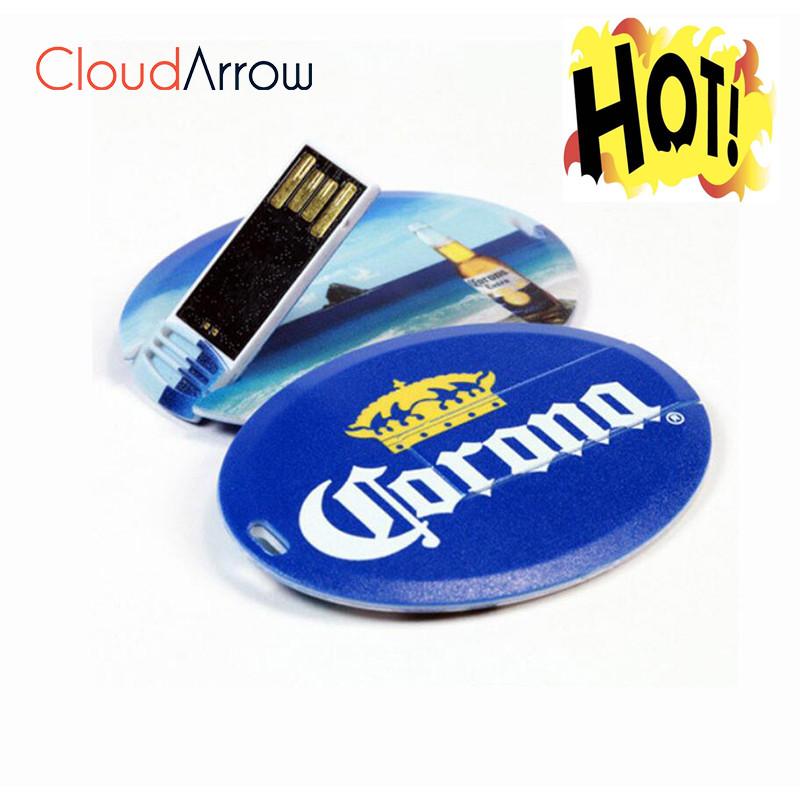 Free Logo Printing Business Card 4GB USB Flash Drive - USBSKY   USBSKY.NET