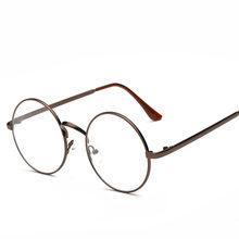 Женские круглые оправы для очков, очки с прозрачными линзами, мужские оптические оправы для очков, прозрачные очки(Китай)