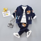 Hao Baby Manufacturers Cotton Children's Clothing Boys and Girls Three Sets of Children's Suits Casual Children's Clothes