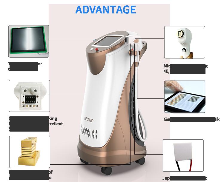 Самый популярный диодный лазер для удаления волос, 755 нм, 808 нм, 1064 нм, Алма-александритовый лазер для постоянного удаления волос