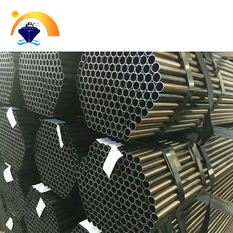 Steel Pipe building material /hollow tube /black round pipe in Tianjin