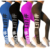 New Hot Sale Number Printed Hip Fitness Leggings for Women Custom Yoga Pants