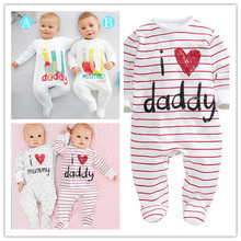 New 2014 Brand Baby Bodysuits Autumn Newborn Cotton Body Baby Long Sleeve Underwear Next Infant Boys