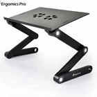 JLT Adjustment Aluminum Laptop Stand with Cooling Fan for Bed