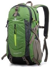 Free shipping travel bag sport backpack waterproof outdoor climbing mountaineering hiking camping backpack women&men 40L
