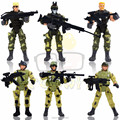 War on Terror Elite Heroes Special Forces Weapons and Tactics Policemen with Gun Army Puppet Toys