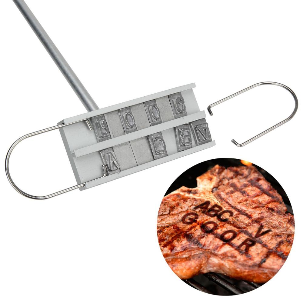 Personalized Steak Brander with three letters
