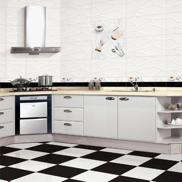 30 60 رخيصة أبيض وأسود السيراميك بلاط أرضيات للمطبخ Buy بلاط الأرضيات بلاط أرضية المطبخ بلاط أرضيات خزفي Product On Alibaba Com