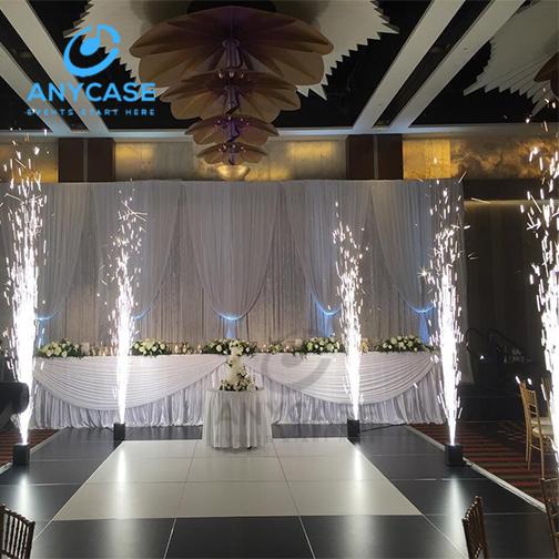Portable Dance Floor Cold Sparkler Fireworks Machine For Wedding Event Decoration