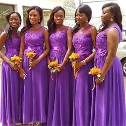 Кружевные Платья для подружек невесты 2021 африканские платья подружки невесты длинные платья трапециевидной формы для подружек невесты