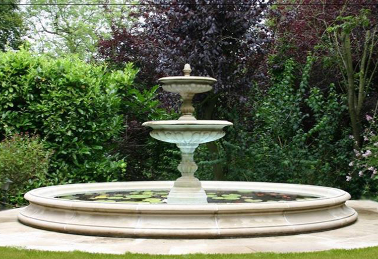 chinese stone carving garden fountain marble outdoor water for sale