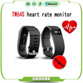 2016 TW64S Bluetooth 4 0 Wristband Heart Rate Monitor Pulse tracker Smartband Fitness Tracker with Pedometer