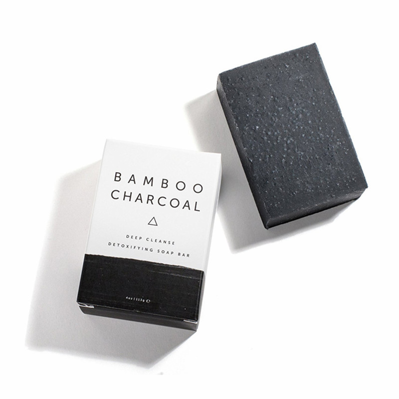 All Natural Deep Cleanse Detoxifying Bar Soap Activated Bamboo Charcoal Soap