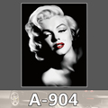 A 904 Marilyn Monroe Waterproof Fashion Cool DIY Stickers For Laptop Luggage Fridge Skateboard Car Graffiti