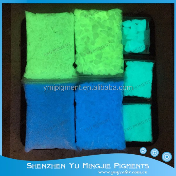 Люминесцентный камень, фотолюминесцентный камень для дорожек/аквариума/бассейна