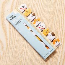 Маленький блокнот с животными, милые стационарные корейские креативные Стикеры с липкими нотами, кавайные наклейки, наклейки для планера, к...(Китай)