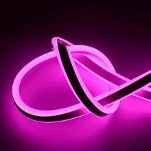 220V Гибкий Мягкий RGB светодиодный неоновый свет лампы Радужный светодиодный неоновая вывеска для организаций и магазинов лампы лента для де...(Китай)