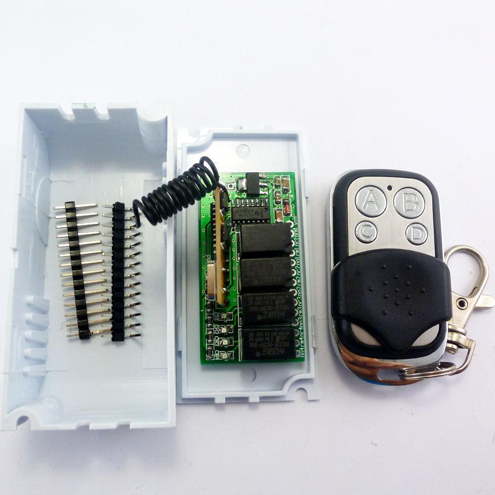 Mini DC 5V 12V 433M Wireless Controller RF Relay Switch for