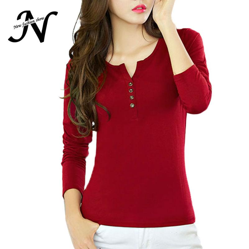 basic t shirt women long sleeve womens tops 2016 spring autumn tee shirt women korean style t. Black Bedroom Furniture Sets. Home Design Ideas