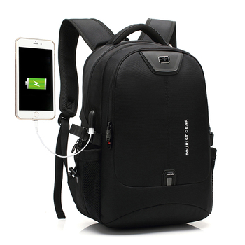 2020 new promotional business backpack customization charging mens laptop bags custom waterproof anti theft usb smart backpack