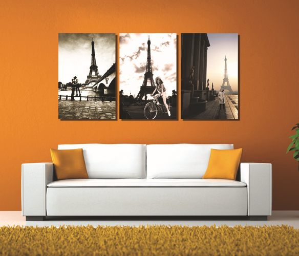 Wall Decor Home Goods: Canvas-Prints-3-Panels-Wall-Art-Set-Black-and-White