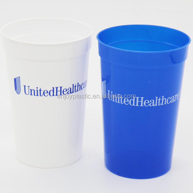 Personalized custom birthday party cup 16oz plastic stadium cups