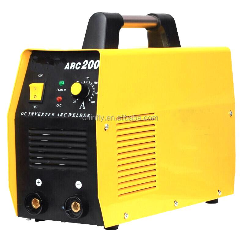 Portable TIG200A DC Inverter TIG welder