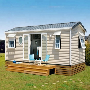 Prefabricated cheap ready made 1 bedroom mobile homes 2bedroom prefab house