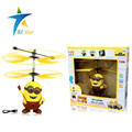 Flash Remote Control RC Helicopter Flying Despicable Me light eye Minion Quadcopter Drone Ar drone Kids