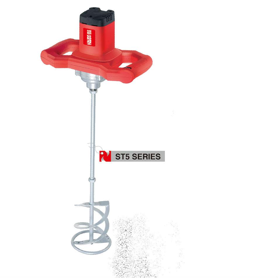 Haudo 1600 Вт Электрический Ручной смеситель для штукатурки, цемента, раствора, плитки