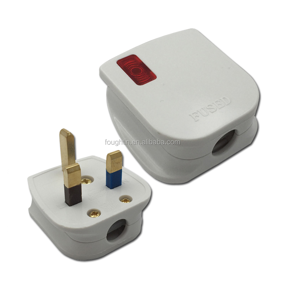 Phích Cắm Và Ổ Cắm Điện 3 Chân Có Phích Cắm Kiểu Anh Nhẹ - Buy Điện Phích Cắm  Điện Và Ổ Cắm,3 Pin,Anh Cắm Product on Alibaba.com