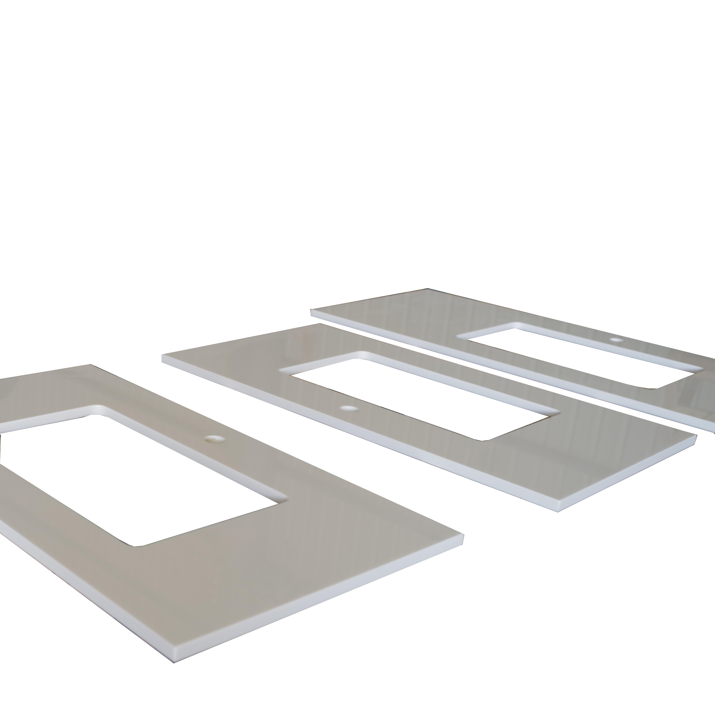 Precut Kitchen Countertop Korean Table Top Oval Marble Table Top Kitchen  Countertops Blue Stone Table   Buy Countertop,Vanity Top,Nanoglass Product  on ...